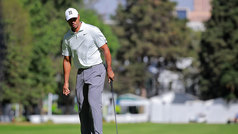 Tiger Woods reconoce el pasto del Club de Golf Chapultepec