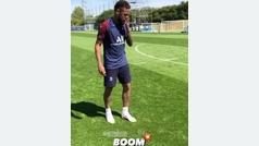 Neymar y su puntería perfecta