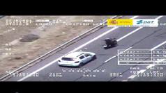 La conducta temeraria de un motorista por recriminar a otros conductores