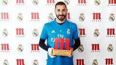Benzema, Jugador Cinco Estrellas de la temporada en el Real Madrid