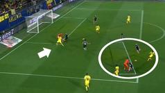 Gol de Ekambi (2-0) en el Villarreal 3-0 Sevilla