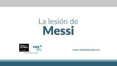 El Dr. Ripoll explica en MARCA la lesión de Messi