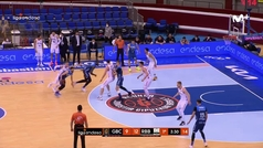 Liga ACB: Resumen Acunsa GBC 74-97 Bilbao