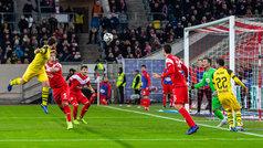 Los goles del Fortuna Dusseldorf 2-1 Borussia Dortmund