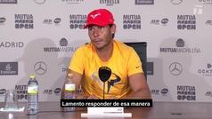 """MX Nadal: """"Juego donde quiero jugar y cuando quiero jugar"""""""