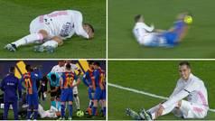 Lucas Vázquez dice adiós a la temporada: lesión en el ligamento cruzado