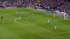 Gol de Sterling (1-0) en el Manchester City 4-3 Tottenham