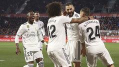 Copa del Rey (cuartos, vuelta): Resumen y goles del Girona 1-3 Real Madrid
