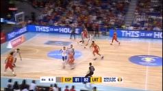Quino Colom mete a España en el Mundial a aro pasado