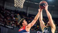Liga ACB. Resumen: Bilbao 88-77 Manresa