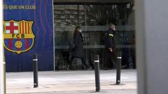 Así fue el registro de los Mossos en las oficinas del Barcelona