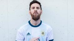 La selección de Argentina presenta su nueva playera