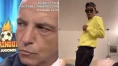"""El vídeo viral de Cristóbal Soria y Vinícius: """"Me invitó a bailar..."""""""