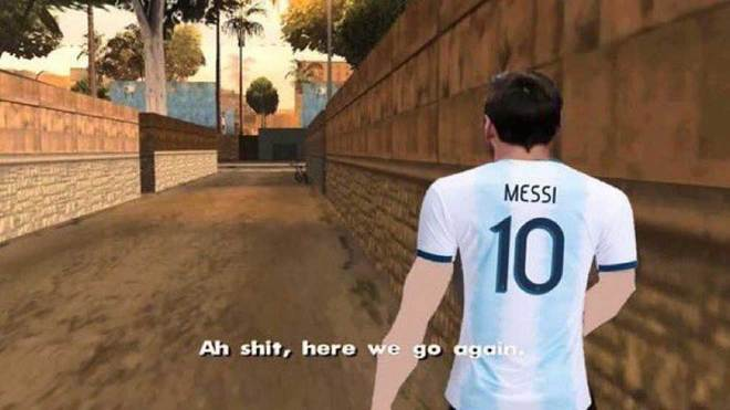 Barcelona: The Meme Of Messi After Seeing Argentina's