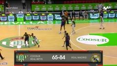 Liga ACB: Resumen Betis 65--84 Real Madrid