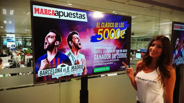 Barcelona vs Real Madrid: MARCA Apuestas sortea 5.000 euros