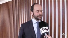 La tecnología de la empresa Foxtenn, presentada en el stand de Banco Sabadell