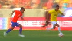 """Jugadón """"a lo fútbol sala"""" de Rodrygo que casi marca"""