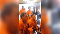 La increible celebración del podio en McLaren