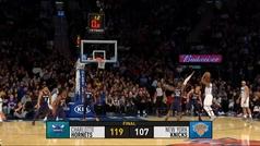 Knicks 107-119 Hornets