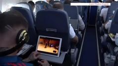 Así pasa Sergio Ramos sus viajes en avión