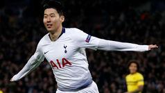 Gol de Son (1-0) en el Tottenham 3-0 Dortmund