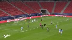 Gol de Bernardo Silva (0-1) en el B. Mönchengladbach 0-2 M. City