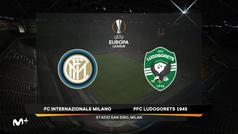 Europa League (1/16, vuelta): Resumen y goles del Inter de Milán 2-1 Ludogorets