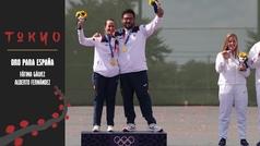 Fátima Gálvez y Alberto Fernández logran el primer oro para España en Tokio