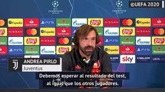 Pirlo, sobre la presencia de CR7 frente al Barça