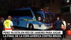 Perú ya está en Rio a la espera de la gran final