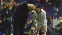 """Zidane: """"Hazard tiene que jugar para recuperar su confianza"""""""