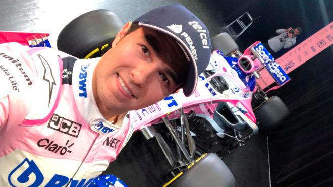 Racing Point presenta monoplaza de 'Checo' Pérez