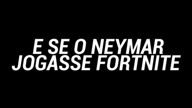 Así juega Neymar a Fortnite