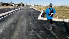La aberración hecha carretera en Cartagena