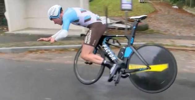Resultado de imagen de caida bicicleta