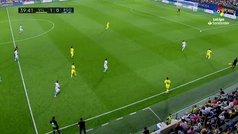Gol de Willian José (1-1) en el Villarreal 1-2 Real Sociedad