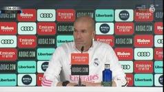 """Zidane: """"Hay momentos en los que tienes que estar y otros en los que te tienes que ir por el bien de"""