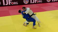 Así fue la llave decisiva para el segundo oro mundial del español Niko Shera
