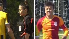 Gran lección de juego limpio de un niño de 14 años del Galatasaray