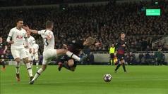 Gol de Timo Werner (p.) (0-1) en el Tottenham 0-1 RB Leipzig
