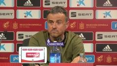 """Luis Enrique: """"Lo importante hoy era ganar y el fútbol ha sido justo"""""""