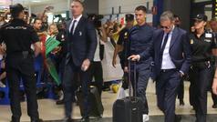 Cristiano Ronaldo ya está en Valencia
