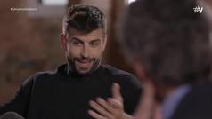 """La curiosa anécdota de Piqué con Van Gaal en casa de su abuelo: """"Tu no ser fuerte para ser defensa"""""""