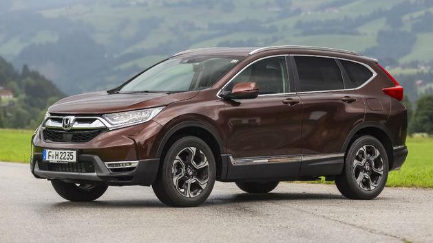Honda CR-V: sólo con motores de gasolina y versión híbrida en 2019