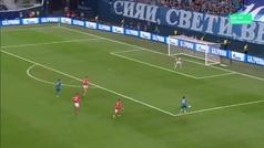 Gol de Ruben Dias (p.p) (2-0) en el Zenit 3-1 Benfica