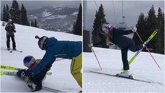 "Lindsey Vonn se pasa al esquí-ballet: ""No me extraña que lo llamen rompepiernas"""