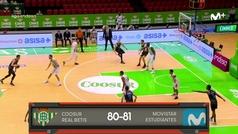 Liga ACB: Resumen Betis 80-81 Estudiantes
