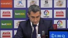 """Valverde: """"Partidos así nos vienen bien, porque nos ponen en nuestro sitio"""""""