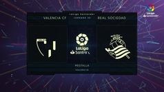 MX: LaLiga Santander (J30): Resumen y goles del Valencia 2-2 Real Sociedad